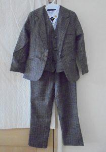 男児式典用スーツ